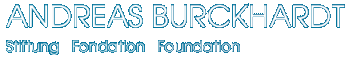 Andreas Burckhard - Stiftung Fondation Foundation